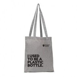Recycled Cotton Shopper - Grey, livebeforelockdown