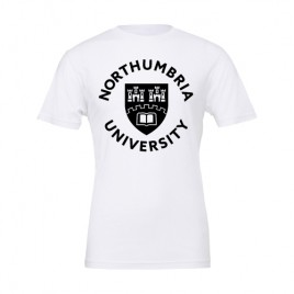 Unisex Shield T-Shirt - White