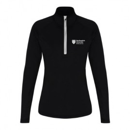Women's Long Sleeve Performance ¼ Zip, livebeforelockdown